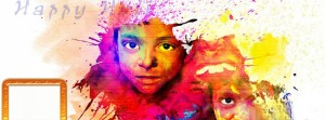 Happy Holi 2015 Timeline Cover Photos For Facebook Images HD Wallpapers