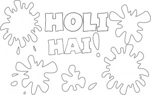 2019 Happy Holi Drawing Scraps Ideas Crafts For Kids Adult Coloring