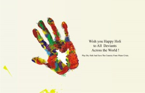 Happy Holi Drawing Scraps Ideas Crafts For Kids Adult 2015