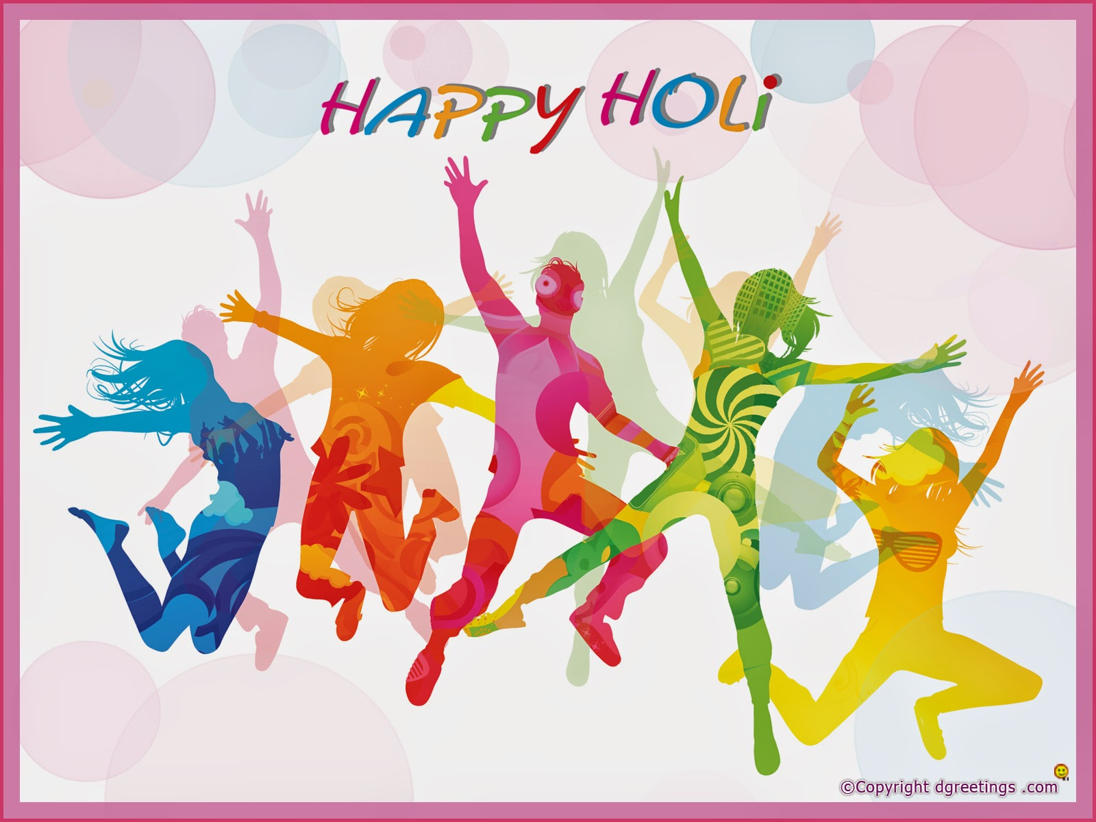 happy holi 3d images