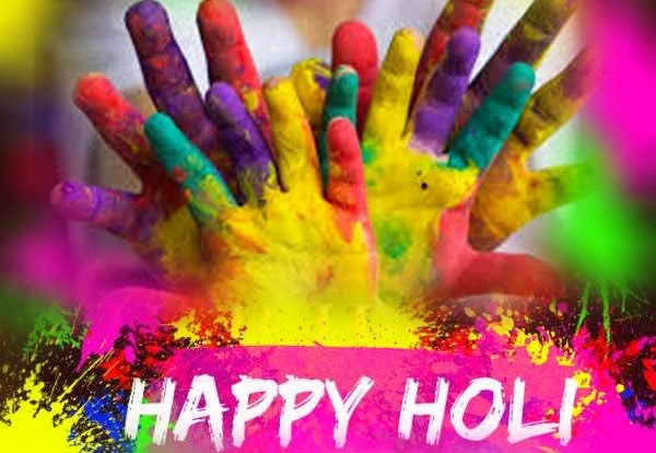 happy holi telegu