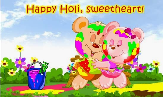 happy holi wish